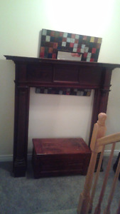 1870's Fireplace mantle