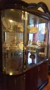 Buffet, Hutch with table