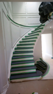 F. L STAIRS and flooring