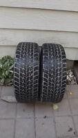2 Toyo winter 205/60/15 tires on 5x115 rims,balanced