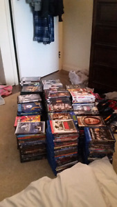 tons of DVDS / Blu-ray