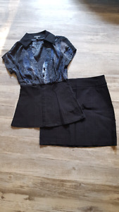 Cute Le Chateau outfit - adult size xxs/teen size s