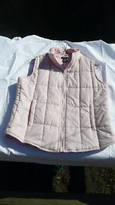 """Atmosphere"" Poly-filled VEST  Soft Pink ** Really warm!"