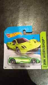 Assorted hotwheels and Majorette Super Cars
