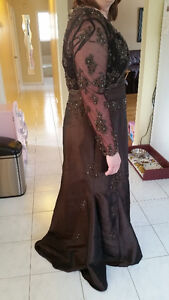 Long gown with jacket