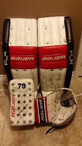 Bauer RX10 PRO GOALIE SET in great condition