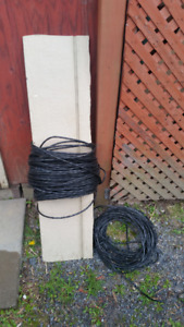 Cat 6 cable - 2 sections - for use under ground - 400' in total