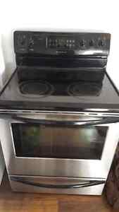 Like New Fridgidair Self Cleaning Stainless Steel Stove