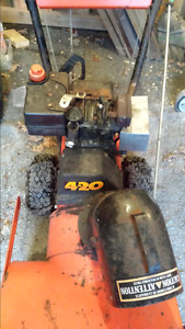 Mastercraft 4-20 snowblower for 5