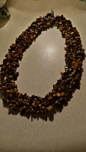 Genuine Tiger Eye Necklace