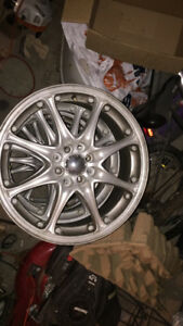 Set of 17 inch koing rims, 4x100 universal also fit 4x1.4