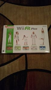 BRAND NEW (SEALED) NINTENDO WII FIT PLUS + 2 GAMES