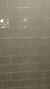 Ceramic subway tiles