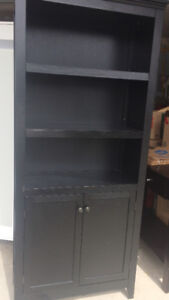 Brown Bookcase with doors