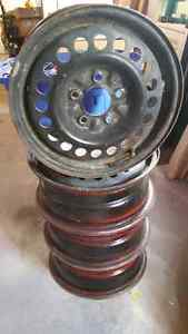 15 inch Wheel Rims...Set of Four... $40 Belleville Belleville Area image 3