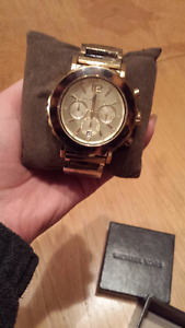 MICHAEL KORS WATCH TURTOISE STYLE FOR SALE!