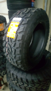 NEW LT33X12.5R20 MUD TERRAIN TIRES