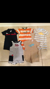 Gymboree sz 12-18 months rompers and overalls