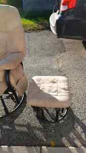 Metal  reclining rocking chair excellent condition  Peterborough Peterborough Area image 1