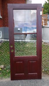 Porte à donner
