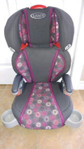 "Girls ""Graco"" Turbo Booster Seat"