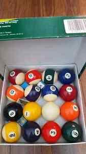 Billiard ball set ....