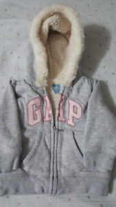 EUC Baby GAP (6-12mos) cozy jacket