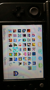 """""""New"""" nintendo 3ds with a bunch of games!"""