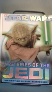 Star Wars Mysteries of the Jedi hard cover book