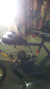 Gas bike for sale 80 cc for 2 bills