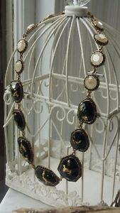 Artizan by Robin Barre Necklace with Black Stones