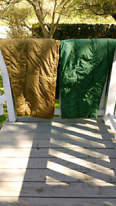 Military down filled sleeping bags $125 takes both LOT SALE!!