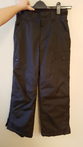 MEC youths snow pants size 10 black - like new