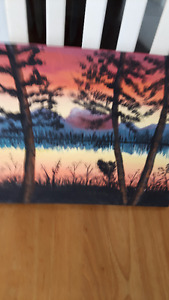 Painting Sunset