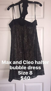 Max and Cleo bubble dress