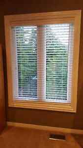 """2 inches white blind 45 ¼"""" wide x 5 feet long"""