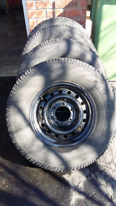 Avalanche winter tires off a 99 toyota 4 runner