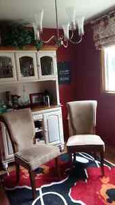 4 High Back Dining Room Chairs Kitchener / Waterloo Kitchener Area image 2
