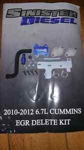 Dodge ram 6.7l Cummins Sinister Diesel Egr delete kit 2010-2012