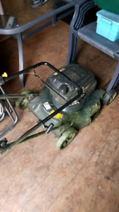 Lawn mower and gas trimmer 80 for both
