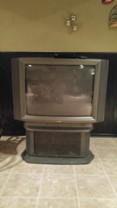 Toshiba 42-inch TV with swivel stand