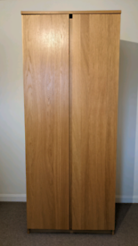 Bedroom furniture set. Wardrobe, chest of drawers and 2 bedside tables