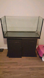 48 gallon tank and stand only - NEER GONE