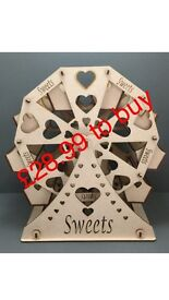 Ferris wheel for sweets