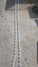 Anchor Mooring Chain Galvanised New 11M x 10mm thick links