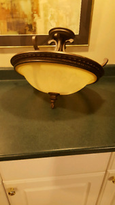 Ceiling light $15