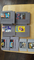 Nintendo NES, SNES and N64 Games