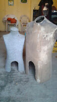 Two Vintage Body Forms (Mannequins)