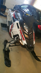 2014 switchback assault **900miles** with sled trailer