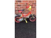 """Kids avigo dinotec 12"""" bike"""
